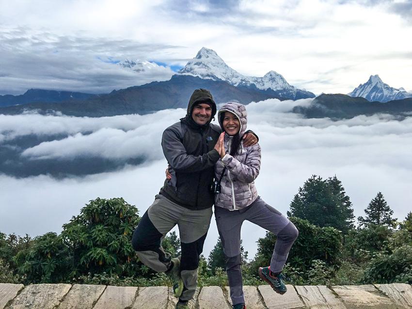 Yoga Trekking To Poonhill